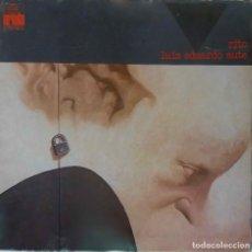 Discos de vinilo: LUIS EDUARDO AUTE. RITO, LP PORTADA ABIERTA.. Lote 144039410