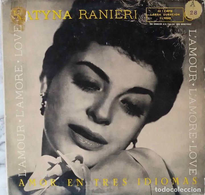 Katyna Ranieri L Amour Lamore Love Lp Original España Años 50