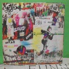 Discos de vinilo: ESPASMODICOS EP DRO 1982 ENCIENDES TU MOTOR/ ESTAN DESEANDO QUE TE PONGAS A TEMBLAR+1 PUNK ORIGINAL. Lote 144046038