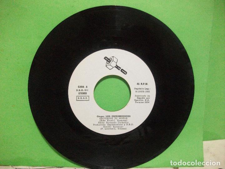 Discos de vinilo: ESPASMODICOS EP DRO 1982 enciendes tu motor/ estan deseando que te pongas a temblar+1 pepeto - Foto 3 - 144046038