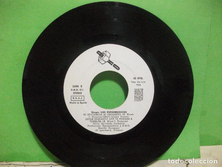 Discos de vinilo: ESPASMODICOS EP DRO 1982 enciendes tu motor/ estan deseando que te pongas a temblar+1 pepeto - Foto 4 - 144046038