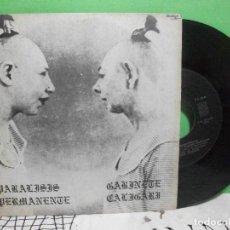 Discos de vinilo: PARALISIS PERMANENTE + GABINETE CALIGARI EP DRO TRES CIPRESES 1982 AUTOSUFICIENCIA +3 . Lote 144046594