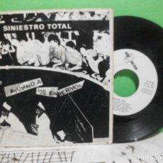 Discos de vinilo: SINIESTRO TOTAL – AYUDANDO A LOS ENFERMOS – EP SPAIN 1882 – DRO 006. Lote 144046882