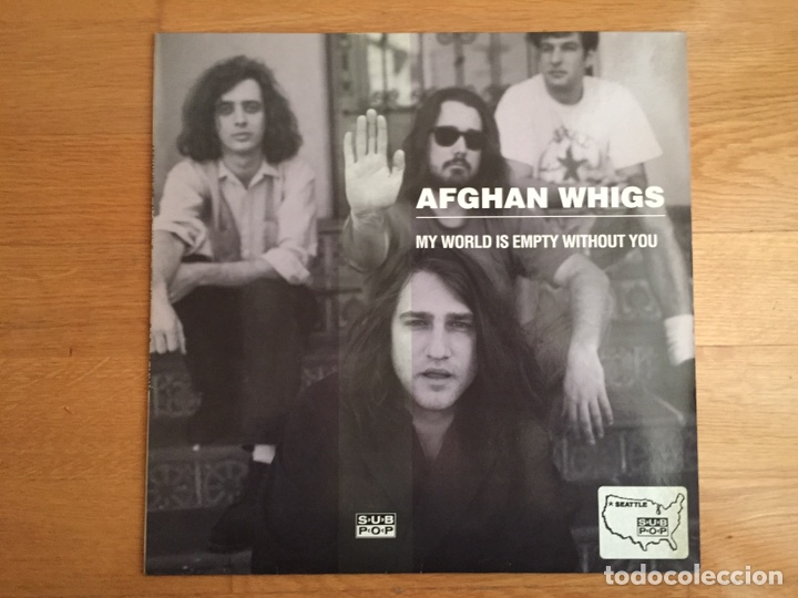 AFGHAN WHIGS: MY WORLD IS EMPTY WITHOUT YOU / CONJURE ME-YOU MY FLOWER (Música - Discos de Vinilo - Maxi Singles - Pop - Rock Extranjero de los 90 a la actualidad)