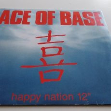Discos de vinilo: ACE OF BASE HAPPY NATION. Lote 144069478