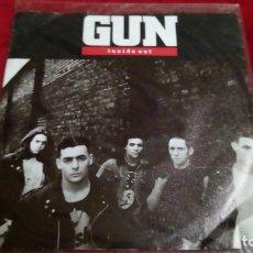 Discos de vinilo: GUN - INSIDE OUT. Lote 144070150