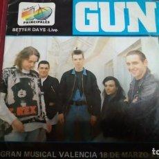 Discos de vinilo: GUN. Lote 144070306