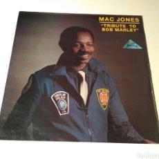 Discos de vinilo: MAC JONES - TRIBUTE TO BOB MARLEY / JAH WOMAN. Lote 144072765