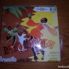 Discos de vinilo: BRUNITO Y SUS ASES. RITMO MERENGUE. DOROTEA + 3. EP. RCA, . IMPECABLE (#). Lote 144084434