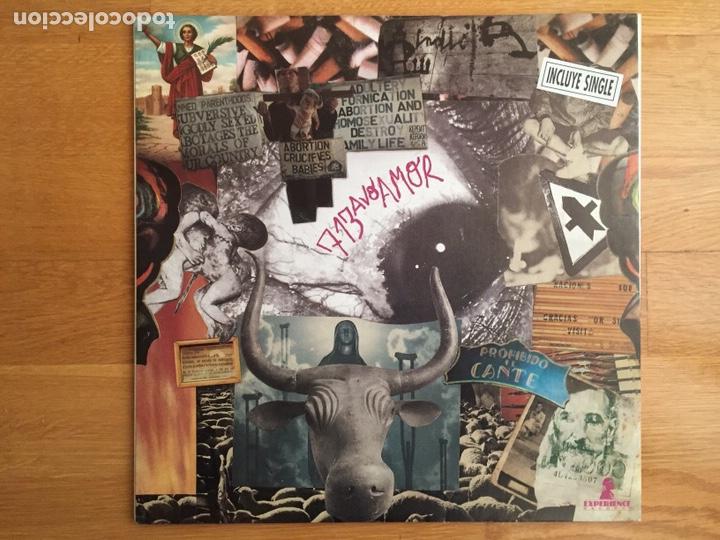 Discos de vinilo: 713AVO AMOR: A VECES EL DOLOR (LP + SN. Primera edición) - Foto 2 - 144089640