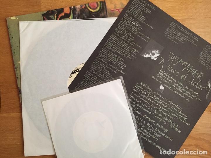 Discos de vinilo: 713AVO AMOR: A VECES EL DOLOR (LP + SN. Primera edición) - Foto 3 - 144089640