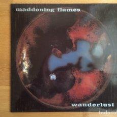 Discos de vinilo: MADDENING FLAMES: WANDERLUST (LP + SN). Lote 144090528