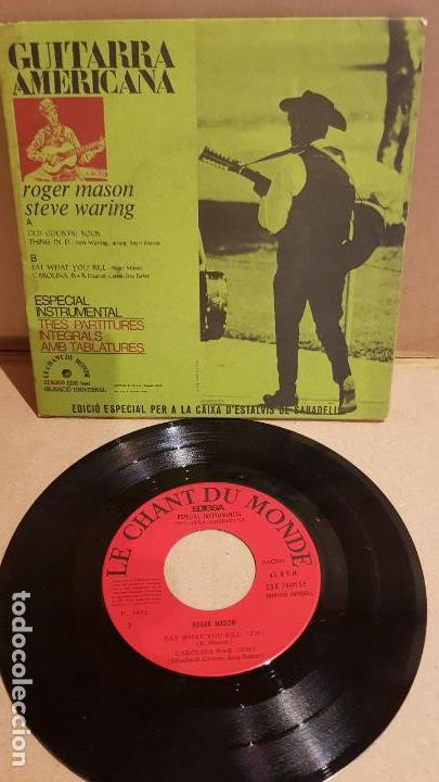 ROGER MASON / STEVE WARING / ESPECIAL INSTRUMENTAL / EP-EDIGSA - 1972 / MBC. ***/*** (Música - Discos de Vinilo - EPs - Country y Folk)