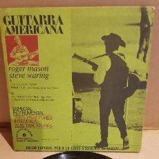 Discos de vinilo: ROGER MASON / STEVE WARING / ESPECIAL INSTRUMENTAL / EP-EDIGSA - 1972 / MBC. ***/***. Lote 144093702