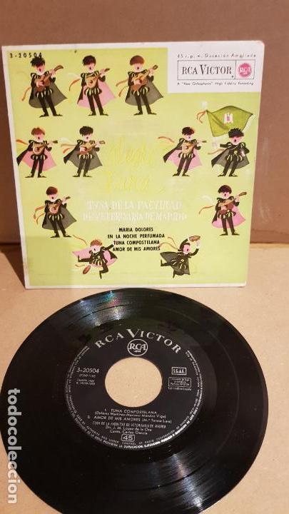 TUNA DE LA FACULTAD DE VETERINARIA DE MADRID / ALEGRE TUNA / EP - RCA-VICTOR / MBC. ***/*** (Música - Discos de Vinilo - EPs - Country y Folk)