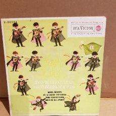 Discos de vinilo: TUNA DE LA FACULTAD DE VETERINARIA DE MADRID / ALEGRE TUNA / EP - RCA-VICTOR / MBC. ***/***. Lote 144097238