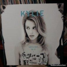 Discos de vinilo: KYLIE - LET'S GET TO IT. Lote 144120978