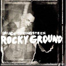 Discos de vinilo: SINGLE 7'' BRUCE SPRINGSTEEN - ROCKY GROUND. Lote 144128114