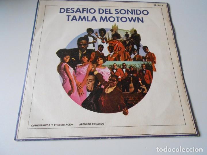 DESAFIO DEL SONIDO - TAMLA MOTOWN -, SG, VARIOS CANTANTES + 1, AÑO 1972 PROMO (Música - Discos - Singles Vinilo - Funk, Soul y Black Music)