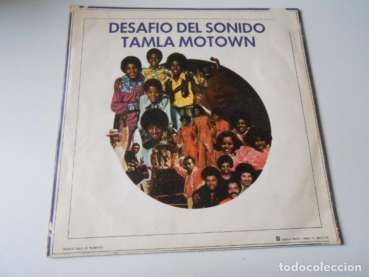 Discos de vinilo: DESAFIO DEL SONIDO - TAMLA MOTOWN -, SG, VARIOS CANTANTES + 1, AÑO 1972 PROMO - Foto 2 - 144130810