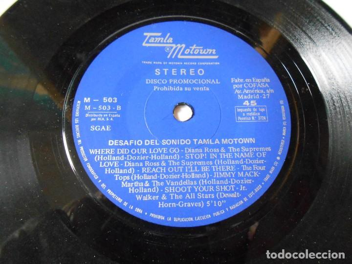 Discos de vinilo: DESAFIO DEL SONIDO - TAMLA MOTOWN -, SG, VARIOS CANTANTES + 1, AÑO 1972 PROMO - Foto 3 - 144130810