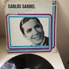 Discos de vinilo: CARLOS GARDEL – LINEATRES. Lote 144135262