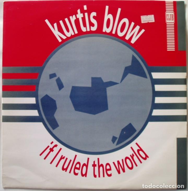 KURTIS BLOW-IF I RULED THE WORLD , CLUB-JAB X26 (Música - Discos de Vinilo - Maxi Singles - Rap / Hip Hop)