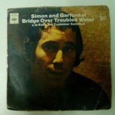 Discos de vinilo: SIMON AND GARFUNKEL - BRIDGE OVER TROUBLED WATER, CBS. FRANCE.. Lote 144146249