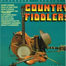 Discos de vinilo: COUNTRY FIDDLERS. BLUEGRASS SPECIAL - LP 1983 - ED. GB. Lote 144155270