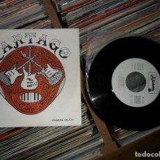 Discos de vinilo: CARTAGO 'TRAICION' PROMOCIONAL. Lote 144187490