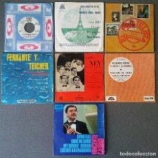 Discos de vinilo: LOTE SINGLES ORQUESTAS RIZ ORTOLANI GRAN ORQUESTA TITAN EL FILATELISTA FERRANTE Y TEICHER LOS XEY . Lote 144191394