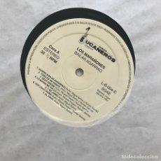 Discos de vinilo: MARAÑONES - BAILAR AGARRAO - LP BUCANEROS 1992 - SIN PORTADA, SOLO EL DISCO. Lote 144212270