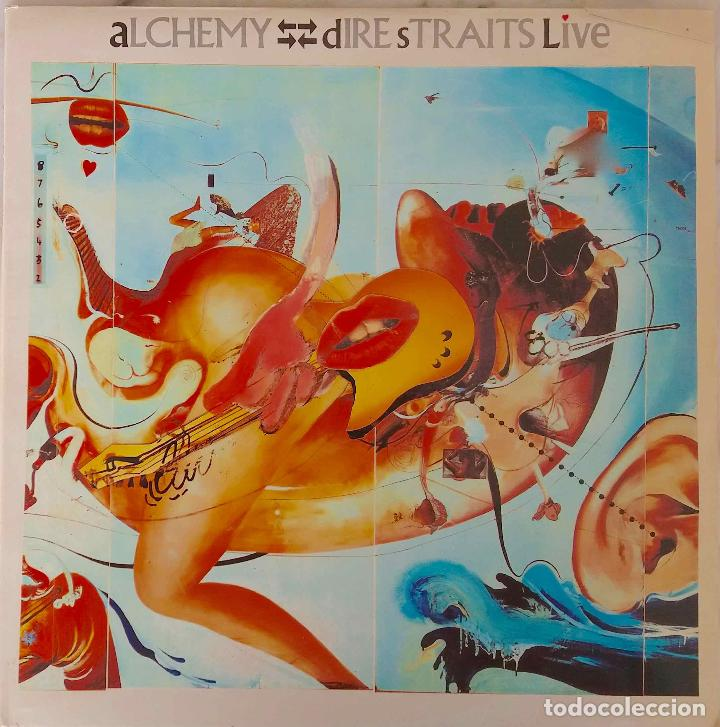 DIRE STRAITS. ALCHEMY LIVE. DOBLE LP ESPAÑA, 2 DISCOS (Música - Discos - LP Vinilo - Pop - Rock - New Wave Extranjero de los 80)