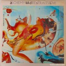 Discos de vinilo: DIRE STRAITS. ALCHEMY LIVE. DOBLE LP ESPAÑA, 2 DISCOS. Lote 144229690
