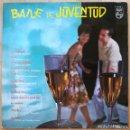 Discos de vinilo: BAILE DE JUVENTUD Nº 1 LP 1963. Lote 144238682