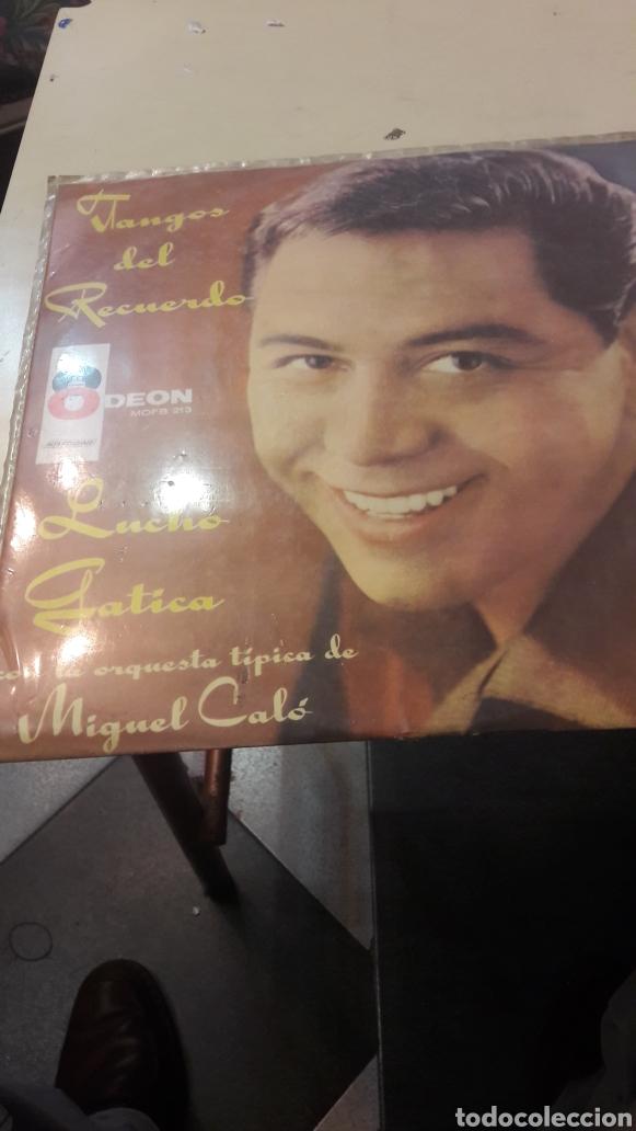 TANGOS DEL RECUERDO LUCHO GOTICA ORQUESTA MIGUEL CALO ODEON (Música - Discos - LP Vinilo - Orquestas)