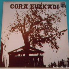 Discos de vinilo: LP VARIOUS - GORA EUZKADI . Lote 144249302