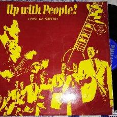 Discos de vinilo: VINILO LP - UP WHIT PEOPLE - VIVA LA GENTE - EDITADO POR PHILIPS 1969 - LOS COLWELL BROTHERS- PAT EC. Lote 144250410