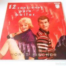 Discos de vinilo: 12 CANCIONES PARA BAILAR -HORST FISCHER Y ORQUESTA, EP, MI CORAZÓN ES UN LIBRO ABIERTO + 3, AÑO 1960. Lote 144251222