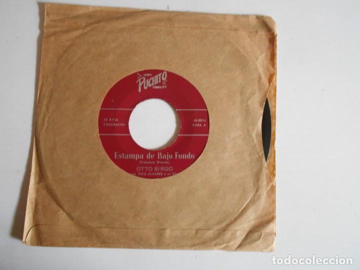 OTTO SIRGO-SINGLE ESTAMPA DE BAJO FONDO (Música - Discos - Singles Vinilo - Grupos y Solistas de latinoamérica)