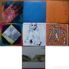 Discos de vinilo: LOTE 7 SINGLES INDIE, EXPERIMENTAL... UNO DOBLE EN TOTAL 8 SINGLES. Lote 95798943