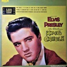 Discos de vinilo: ELVIS PRESLEY - KING CREOLE - LP - RCA NL-83733 EDITADO EN ESPAÑA, 1986.. Lote 144274550