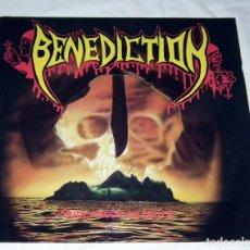 Discos de vinilo: LP BENEDICTION - SUBCONCIOUS TERROR. Lote 144277562