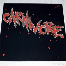 Discos de vinilo: LP CARNIVORE - CARNIVORE ROADRUNNER 1985. Lote 144278546