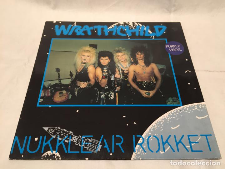 WRATHCHILD -NUKKLEAR ROKKET- (1989) MAXI-SINGLE (Música - Discos de Vinilo - Maxi Singles - Heavy - Metal)