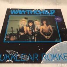 Discos de vinilo: WRATHCHILD -NUKKLEAR ROKKET- (1989) MAXI-SINGLE. Lote 144296502