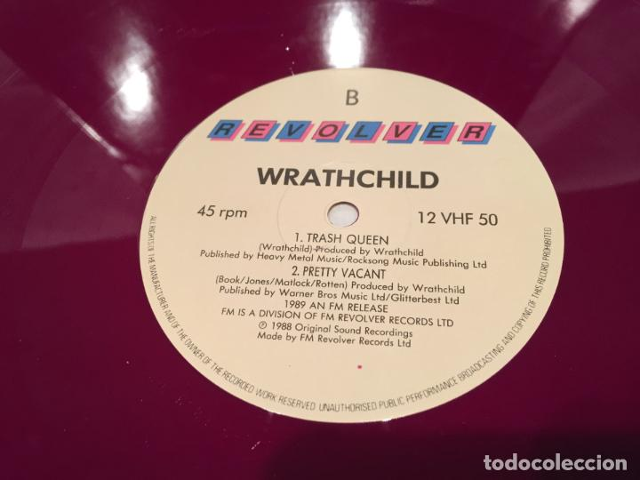 Discos de vinilo: WRATHCHILD -NUKKLEAR ROKKET- (1989) MAXI-SINGLE - Foto 2 - 144296502