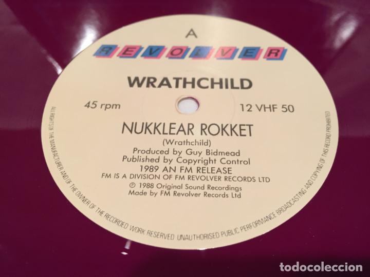 Discos de vinilo: WRATHCHILD -NUKKLEAR ROKKET- (1989) MAXI-SINGLE - Foto 3 - 144296502