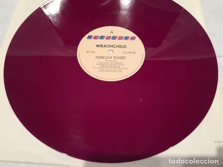 Discos de vinilo: WRATHCHILD -NUKKLEAR ROKKET- (1989) MAXI-SINGLE - Foto 4 - 144296502
