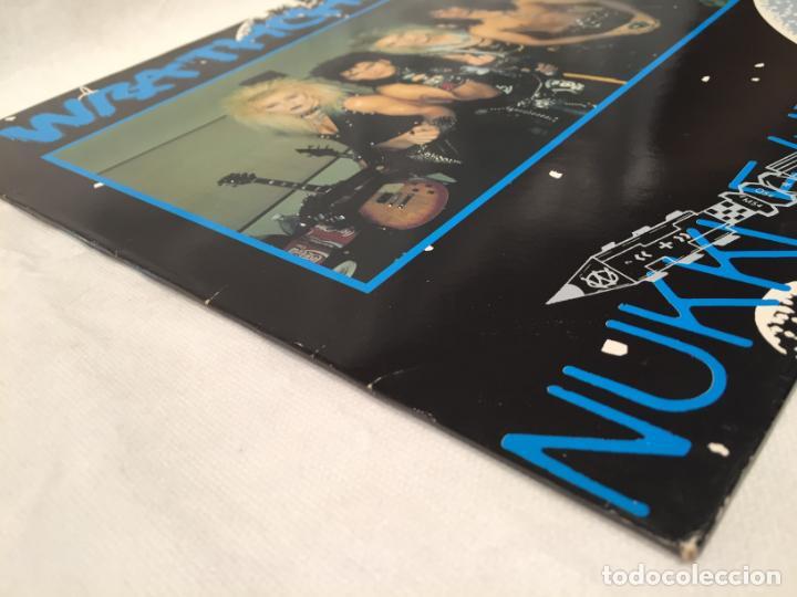 Discos de vinilo: WRATHCHILD -NUKKLEAR ROKKET- (1989) MAXI-SINGLE - Foto 5 - 144296502